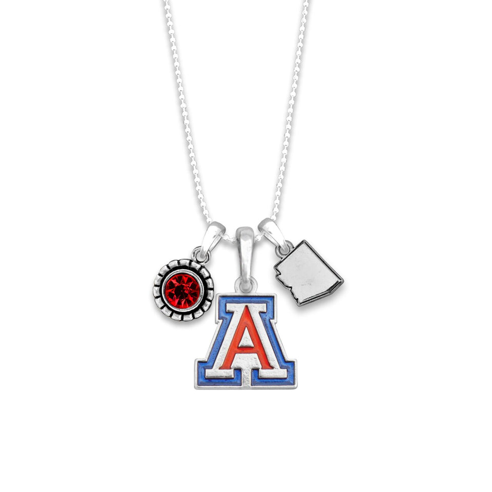 Arizona Wildcats Home Sweet School Necklace