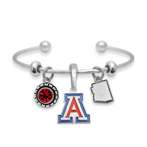 Arizona Wildcats Home Sweet School Bracelet