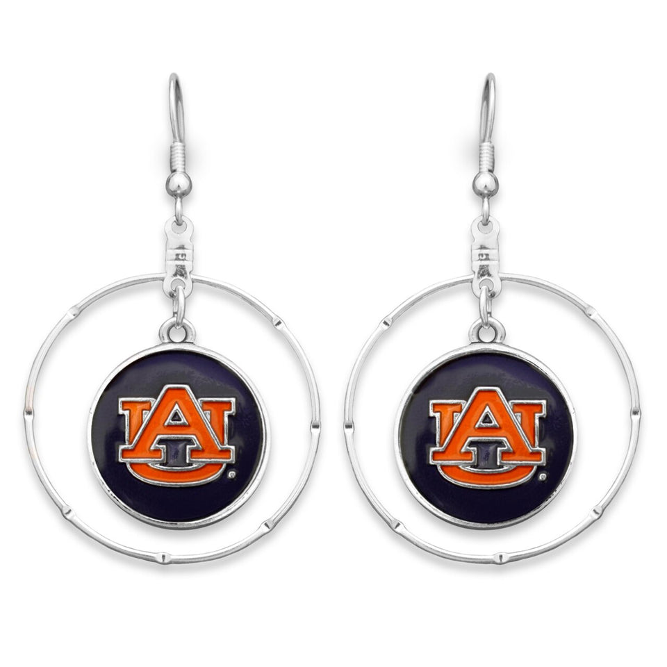 Auburn Tigers Campus Chic Earrings