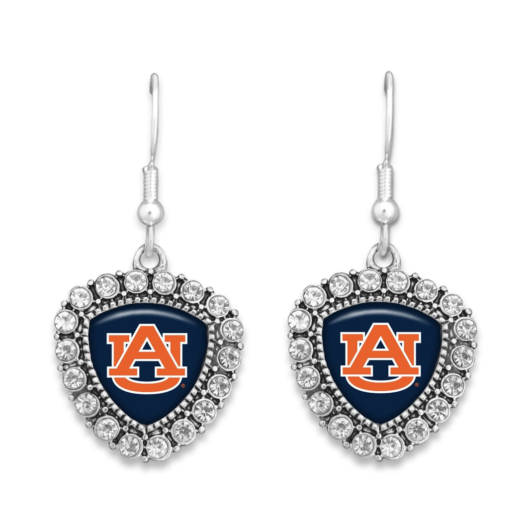 Auburn Tigers Brooke Crystal Earrings