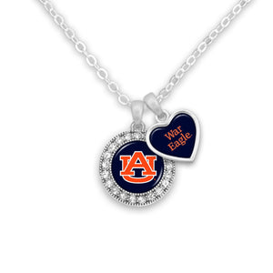 Auburn Tigers Spirit Slogan Necklace