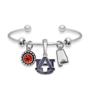 Auburn Tigers Home Sweet School Bracelet