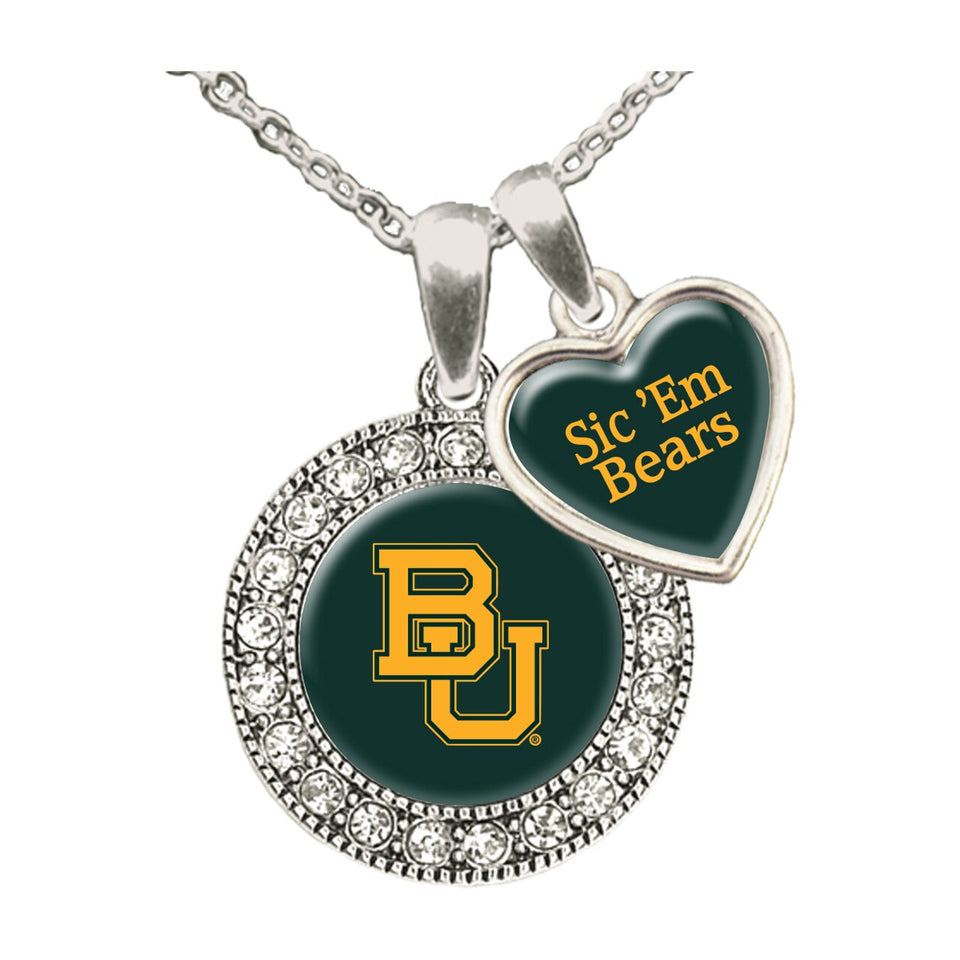Baylor Bears Spirit Slogan Necklace