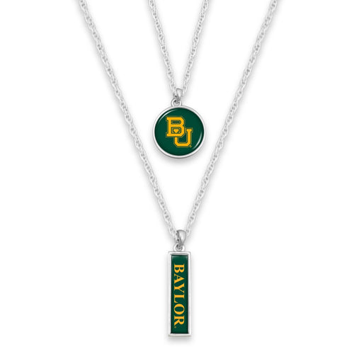 Baylor Bears Double Layer Necklace