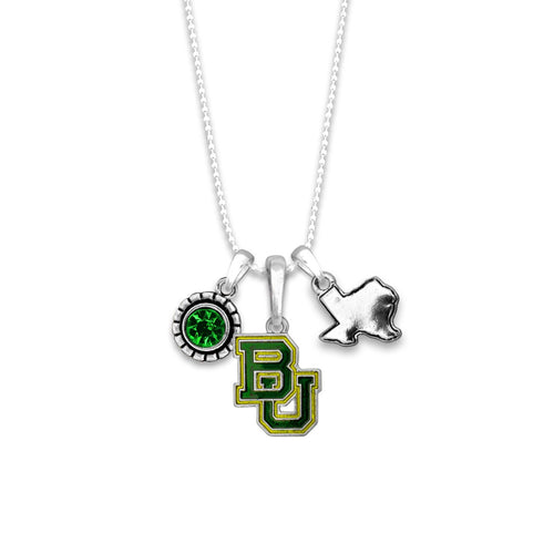 Baylor Bears Home Sweet School Necklace