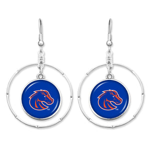 Boise State Broncos Campus Chic Earrings