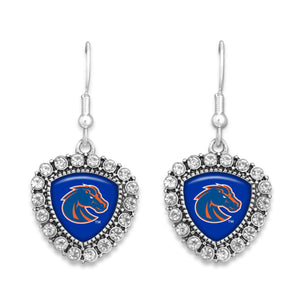 Boise State Broncos Brooke Crystal Earrings