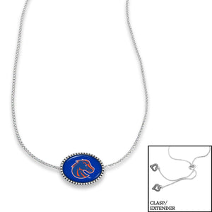 Boise State Broncos Adjustable Slider Bead Necklace
