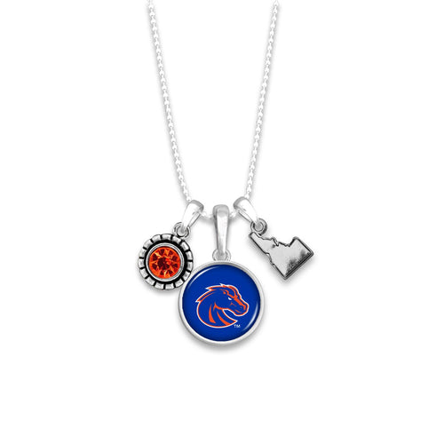 Boise State Broncos Home Sweet School Necklace