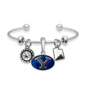 BYU Cougars Home Sweet School Bracelet