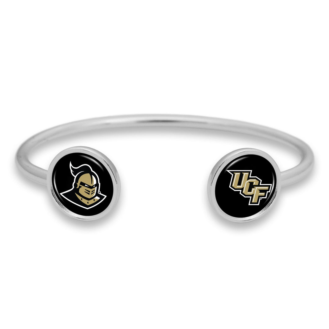 Central Florida Knights Duo Dome Cuff Bracelet