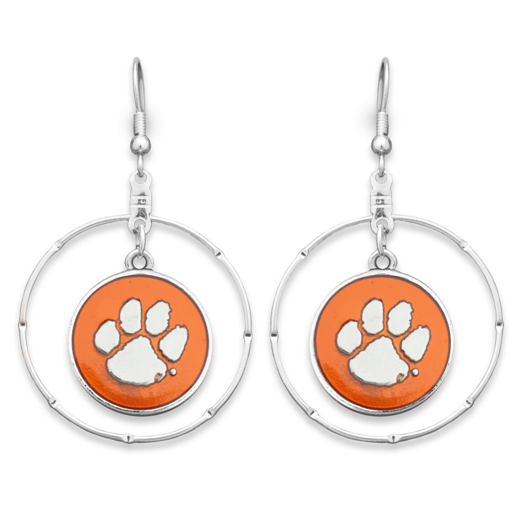 Clemson Tigers Campus Chic Earrings
