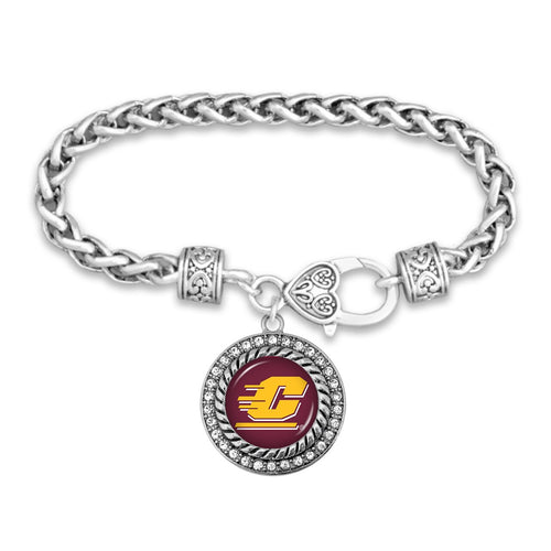 Central Michigan Chippewas Bracelet- Allie
