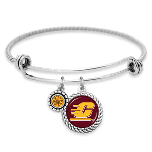 Central Michigan Chippewas Olivia Bracelet