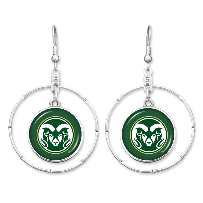 Colorado State Rams Campus Chic Earrings