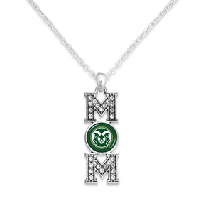 Colorado State Rams MOM Necklace