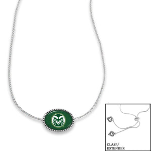Colorado State Rams Adjustable Slider Bead Necklace