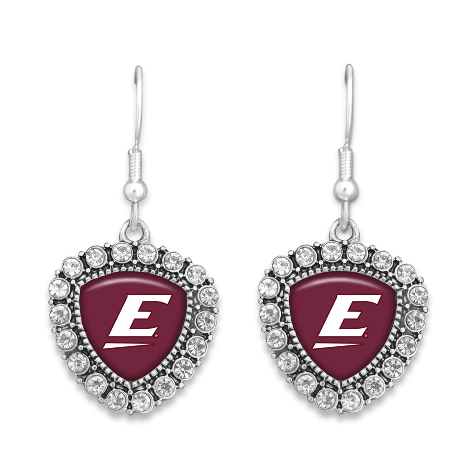 Eastern Kentucky Colonels Brooke Crystal Earrings