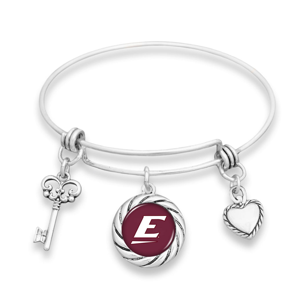 Eastern Kentucky Colonels Twisted Rope Bracelet