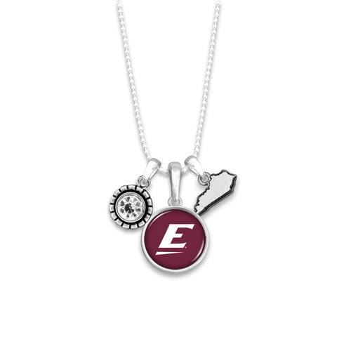 Eastern Kentucky Colonels Home Sweet School Necklace