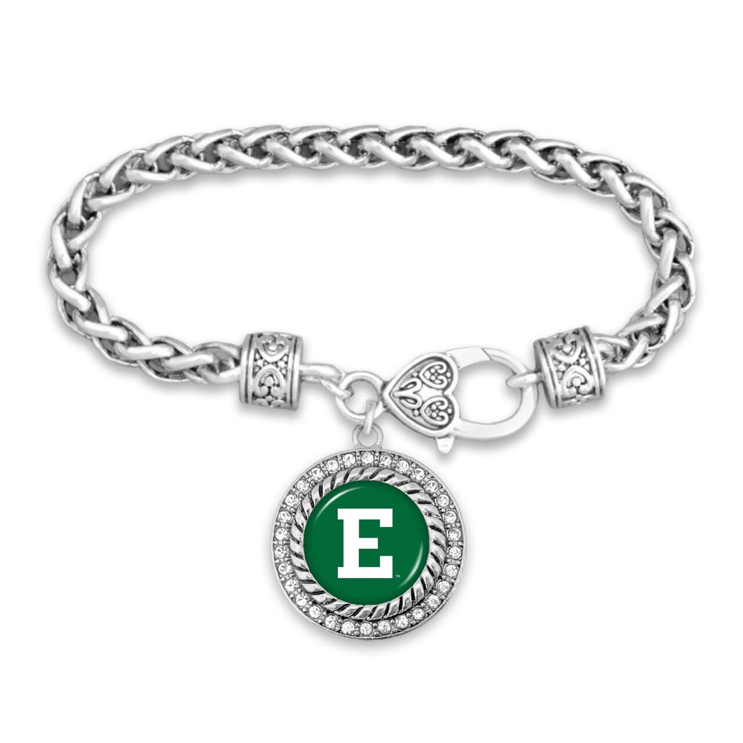 Eastern Michigan Eagles Clasp Bracelet- Allie