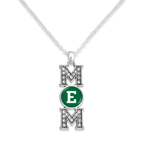Eastern Michigan Eagles MOM Necklace