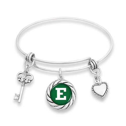 Eastern Michigan Eagles Twisted Rope Bracelet