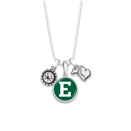 Eastern Michigan Eagles Home Sweet School Necklace