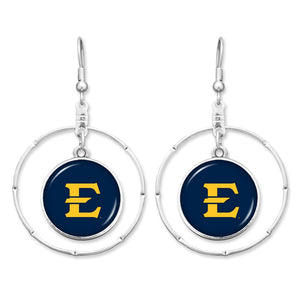 East Tennessee State Buccaneers Campus Chic Earrings