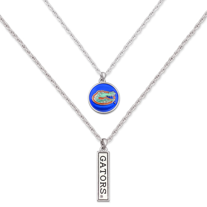 Florida Gators Double Down Necklace
