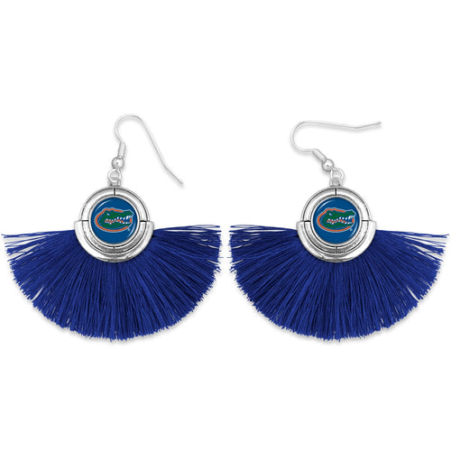Florida Gators Tassel Earrings