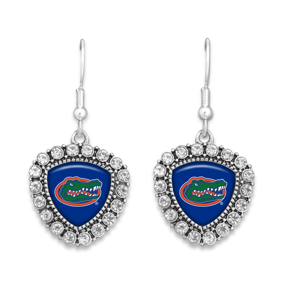 Florida Gators Brooke Crystal Earrings