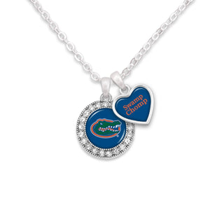 Florida Gators Spirit Slogan Necklace