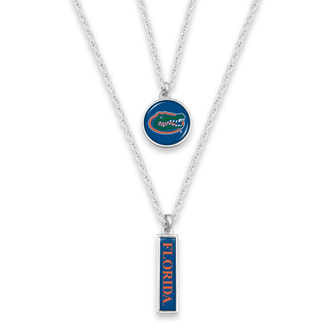 Florida Gators Double Layer Necklace