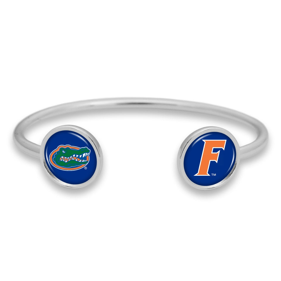 Florida Gators Duo Dome Cuff Bracelet