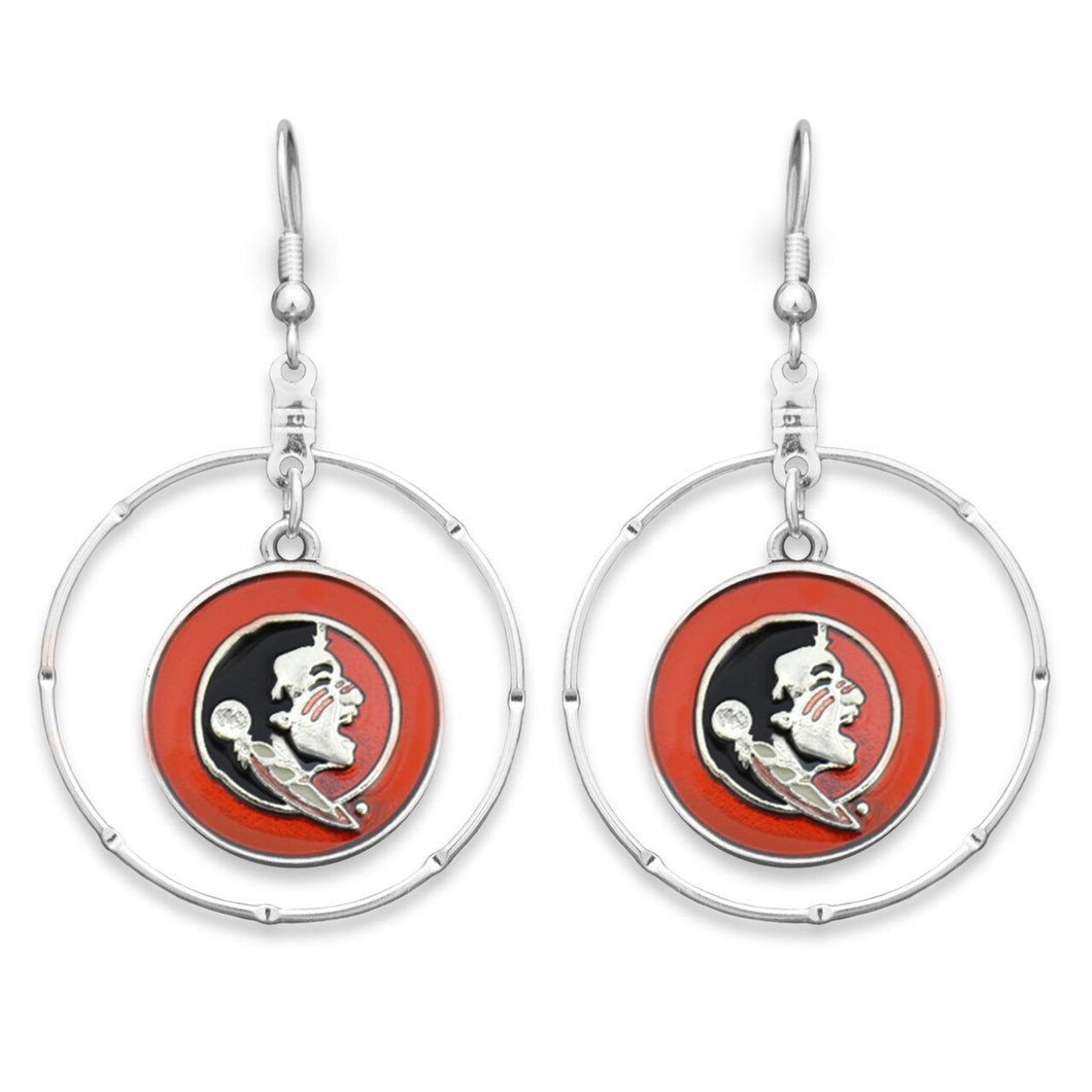 Florida State Seminoles Campus Chic Earrings