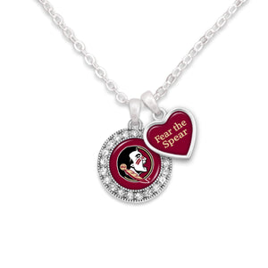 Florida State Seminoles Spirit Slogan Necklace