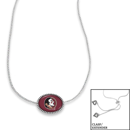 Florida State Seminoles Adjustable Slider Bead Necklace