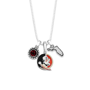 Florida State Seminoles Home Sweet School Necklace