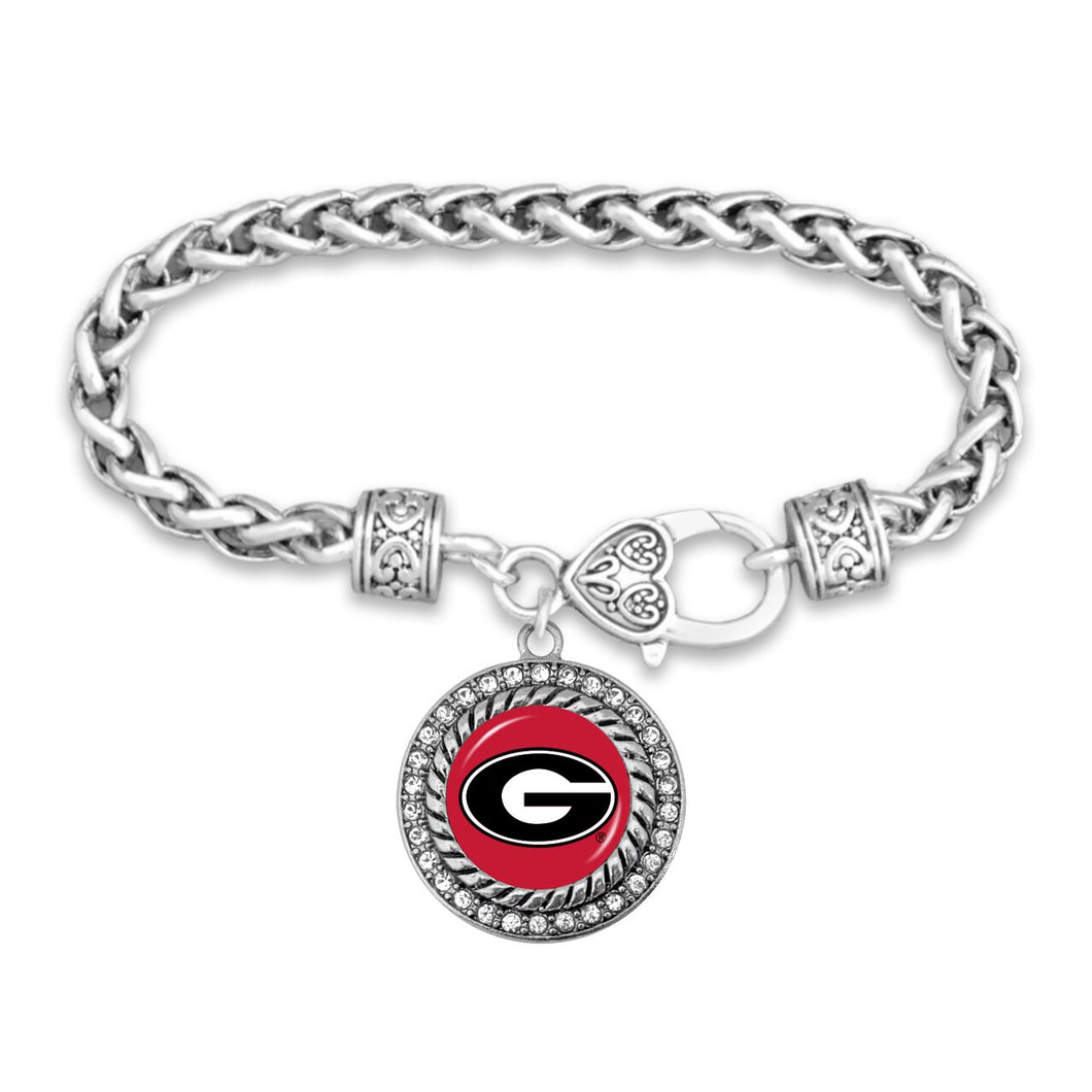 Georgia Bulldogs Bracelet- Allie