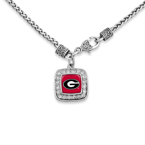 Georgia Bulldogs Kassi Necklace