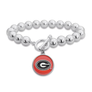 Georgia Bulldogs Society Bracelet