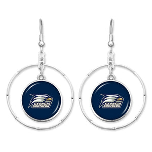 Georgia Southern Eagles Campus Chic Earrings