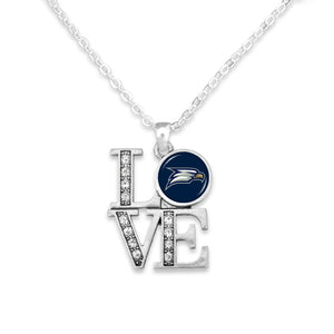 Georgia Southern Eagles LOVE Necklace