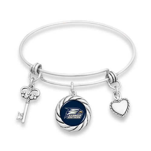 Georgia Southern Eagles Twisted Rope Bracelet