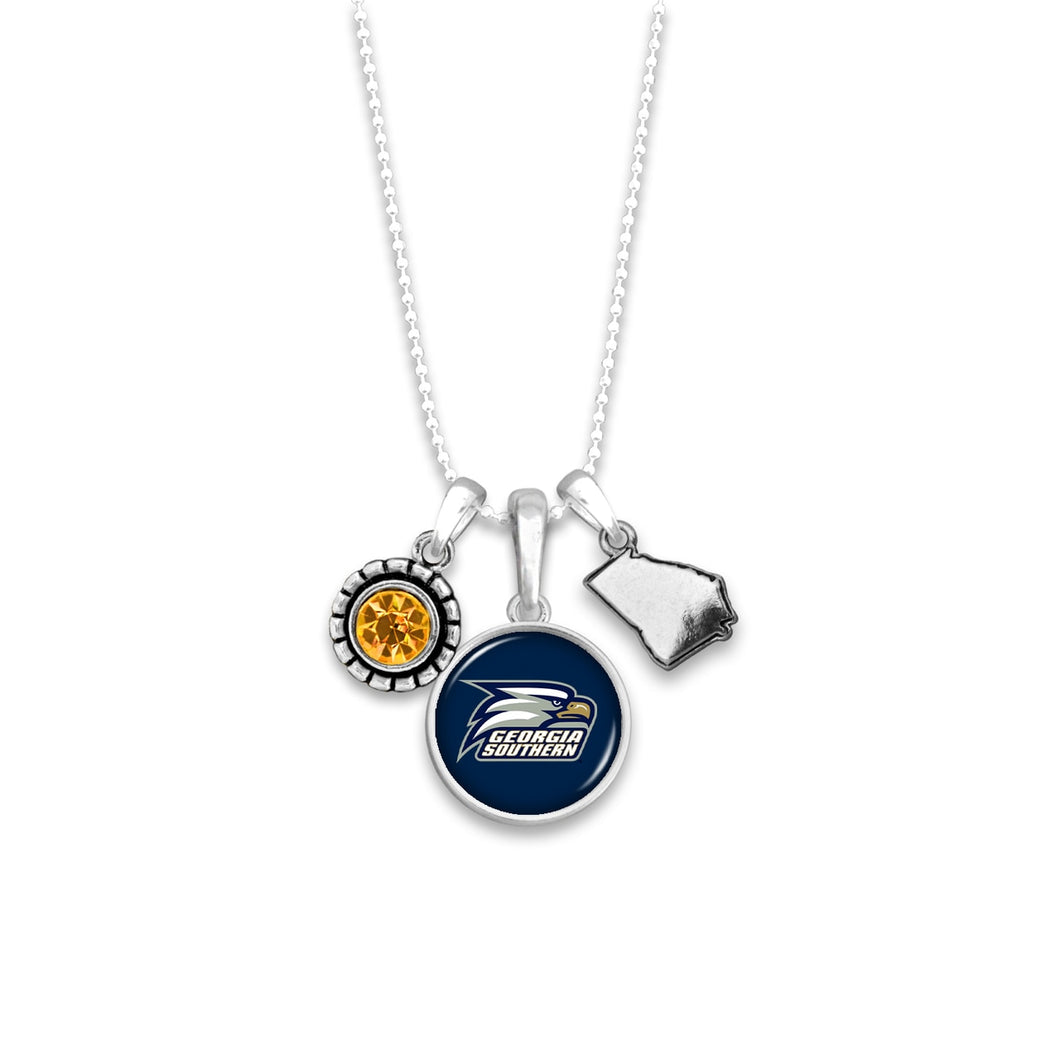 Georgia Southern Eagles Home Sweet School Necklace