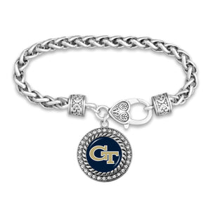 Georgia Tech Yellow Jackets Bracelet- Allie