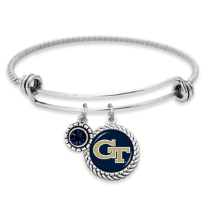 Georgia Tech Yellow Jackets Olivia Bracelet