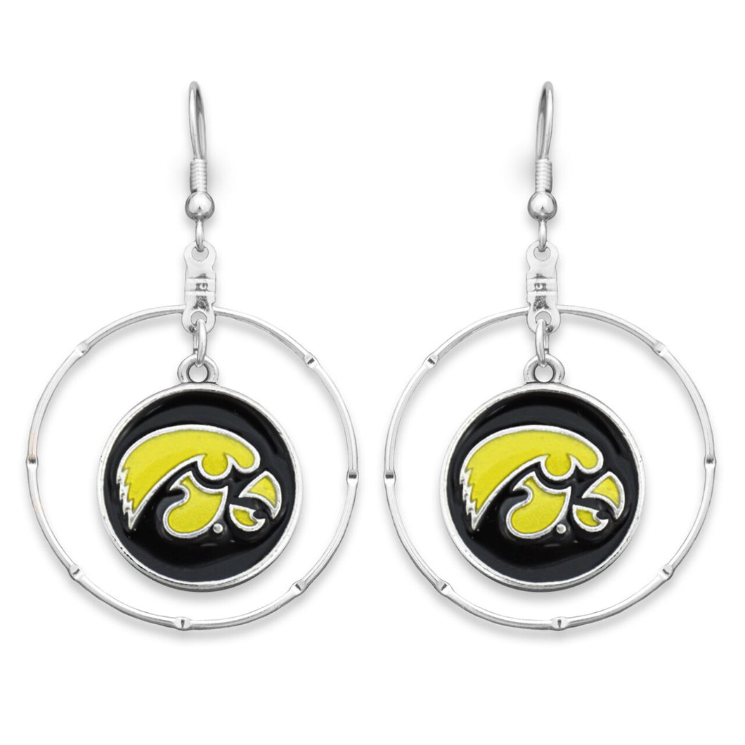 Iowa Hawkeyes Campus Chic Earrings