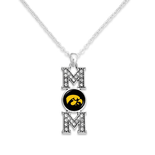 Iowa Hawkeyes MOM Necklace